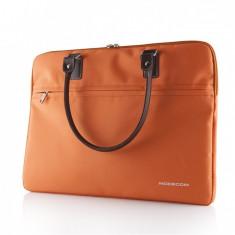 Geanta laptop Modecom Charlton Orange 15.6 inch, Geanta de umar, Nailon, Portocaliu