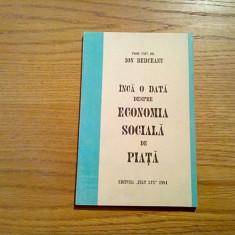INCA O DATA DESPRE ECONOMIA SOCIALA DE PIATA - Ion Berceanu (autograf) - 1994 - Carte de vanzari