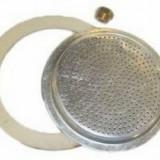 Accesorii de aluminiu. mașină de cafea 3 piese (1 bucată de cauciuc, 1 filtru superior, 1 ventil)Perfect Home 12024