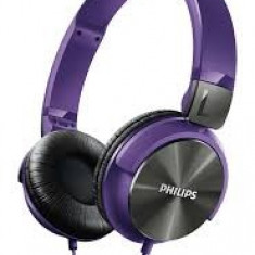 Căști Philips SHL3160PP/00, Casti On Ear, Cu fir, Mufa 3, 5mm, Active Noise Cancelling