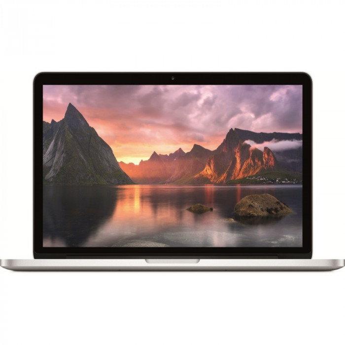 "Laptop Apple MacBook Pro 13"" Retina/Dual-Core i5 2.7GHz, 8GB, 128GB SSD, Intel Iris 6100 foto mare"
