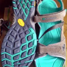 Sandale Karrimor Seychelles Vibram 41EU -piele naturala-produs original- IN STOC - Incaltaminte outdoor