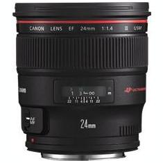 Obiectiv Canon EF 24mm f/1, 4L II USM - Obiectiv DSLR Canon, Macro (1:1), Canon - EF/EF-S