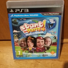 PS3 Start the party! Save the world - joc original by WADDER - Jocuri PS3 Sony, Simulatoare, Toate varstele, Multiplayer