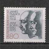 Germania.1982 100 ani nastere J.Franck si M.Born-fizicieni PREMIUL NOBEL SG.452 - Timbre straine, Nestampilat