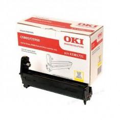 Tambur EP OKI galben| 20000pag | C5550/C58/59 - Cilindru imprimanta