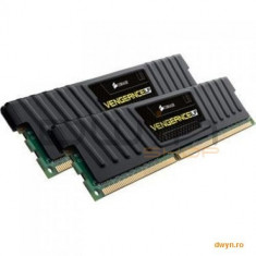 Corsair DDR3 16GB 1600MHz, KIT 2x8GB, CL10, radiator Vengeance LP, dual channel, 1.5V - Memorie RAM