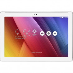 Asus Tableta ASUS ZenPad Z300CG, 10.1 inch IPS MultiTouch, Intel® Atom™ x3-C3230RK, 2GB RAM, 16GB flash, Wi-Fi, Bluetooth, GPS, 3G, White, Wi-Fi + 3G