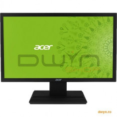 """19.5"""" ACER LED V206HQLAB, Wide, 1600 x 900, 5ms, 200 cd/mp, 100M:1, D-Sub - Monitor LED Acer, 19 inch"""