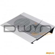 Stand notebook DeepCool 17' - aluminiu, 2*fan, 4* USB, dimensiuni 380X278X55mm, dimensiuni Fan140X14 - Masa Laptop
