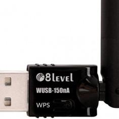 8LEVEL 8level WUSB-150nA adapter USB Wireless N150 - Adaptor wireless