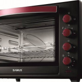 Cuptor electric Samus CS60BRC2 2200W 60L Termostat reglabil Negru