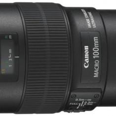 Macro obiectiv Canon 100/F2.8 IS USM EF-L - Obiectiv DSLR Canon, Macro (1:1), Canon - EF/EF-S