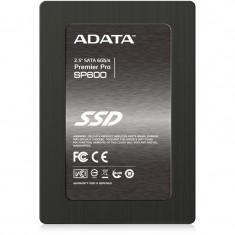 SSD Adata Premier Pro SP600 256GB SATA3, 500/280MBs, IOPS 60K