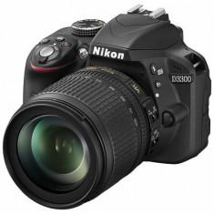 Nikon D3300 kit (18-105mm VR) - DSLR Nikon, Kit (cu obiectiv), Peste 16 Mpx, Full HD