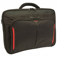 Geanta notebook Targus, CN415EU, 15-15.6', Classic+, Polyester, Black - Geanta laptop Targus, Poliester, Negru