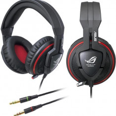 Casti cu microfin pt gaming Asus Orion Republic of Gamers, 30dB izolare zgomot