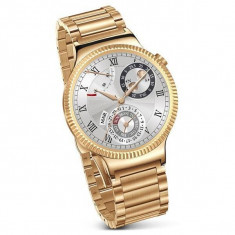 Huawei Huawei Watch W1, auriu metalic, bratara zale metalice aurii - Smartwatch