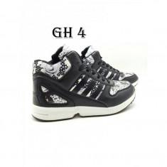 Ghete Adidas dama- impermeabile - Bocanci dama Nike, Culoare: Negru, Marime: 37, 39, Piele naturala