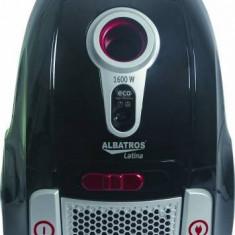 Albatros Aspirator cu sac Albatros Latina Eco 1600-w-300-w-abs-telescopic-gri-inchis-nou - Aspiratoare cu Sac