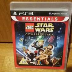 PS3 LEGO Star wars the complete saga Essentials - joc original by WADDER - Jocuri PS3 Altele, Actiune, 3+, Multiplayer