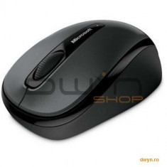 Mouse Microsoft Wireless Mobile mouse 3500, USB, ER, English, Black, Retail