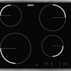 Plită ceramică incorporabilă Zanussi ZEV6341XBA - Plita incorporabila Zanussi, Negru, Numar arzatoare: 4, Electrica