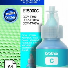 Brother Cartus Brother BT5000C DCP-T300 DCP-T500W DCP-T700W MFC-T800W Cyan 5000 pag - Cartus imprimanta