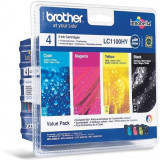 Pachet Brother LC1100HY CMYK | MFC6490CW/ DCP6690CW / MFC5890CN