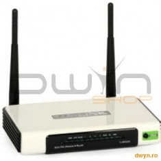TP-LINK Router Wireless 3G 300Mbps, compatible UMTS/HSPA/EVDO USB modem, 3G/WAN failover, 2T2R, 2.4GHz, 802., Port USB