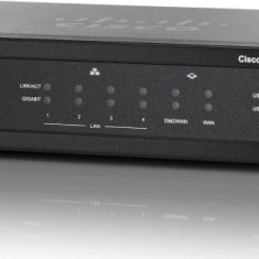 Cisco RV320 Gigabit Dual WAN VPN Router - Router wireless Cisco, Porturi LAN: 4