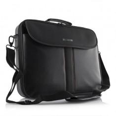 Geanta laptop Modecom Cordoba 15.6'', Geanta de umar, Nailon, Negru
