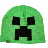 "Minecraft Caciula ""Creeper"" Green M/L"