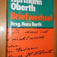 HERMANN OBERTH :BRIEFWESCHEL VOL 1  - HANS BARTH - CARTE IN LIMBA GERMANA