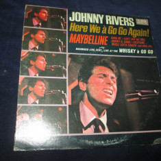 Johnny Rivers ‎– Here We à Go Go Again! _ vinyl(LP, album) SUA - Muzica Blues Altele, VINIL