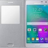 Galaxy A5 S-View Cover Silver EF-CA500BSEGWW - Husa Telefon Samsung, Samsung Galaxy A5