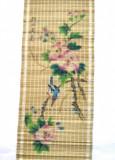Pictura chinezeasca pe rulou de bambus pinyin - flori mar 1 - semnata, Liangping
