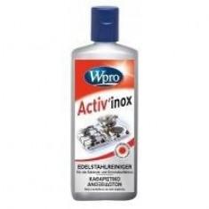 Wpro Cremă curăţire Wpro IXC-200 inox (250 ml) - aragaz, cuptor, cuptor cu microunde, suprafețe din inox - Masina de spalat rufe incorporabila