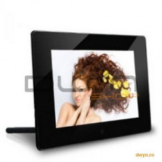 Serioux Rama foto digitala 7' Serioux SmartArt 700LED, rez: 800 x 600, USB/SD/MMC, 4:3, black