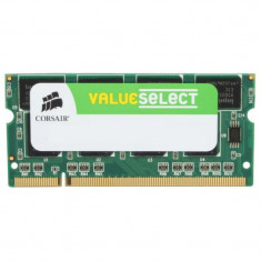 Memorie notebook Corsair ValueSelect 2GB DDR2 800MHz CL5 - Memorie RAM laptop