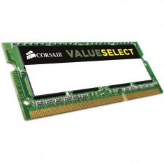 Memorie notebook Corsair ValueSelect 4GB DDR3 1600MHz CL11 1.35v - Memorie RAM laptop