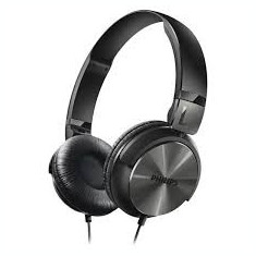 Căști Philips SHL3160BK/00, Casti On Ear, Cu fir, Mufa 3, 5mm, Active Noise Cancelling