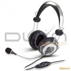 Casti Genius 'HS-04SU' + microfon noise canceling, control volum '31710045100' - Casca PC