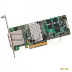 Fujitsu Fujitsu RAID Controller 5/6 SAS, LSI MegaRAID SAS2108, PCIe 2.0 x8, 512MB Cache, 8 internal ports, f - Server de stocare