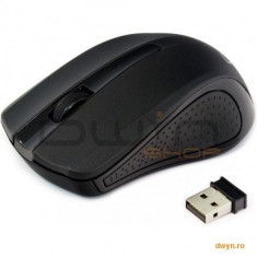 Mouse wireless GEMBIRD, black 'MUSW-101'