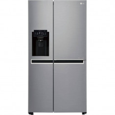 FRIGIDER LG GSL760PZXV SIDE BY SIDE, Independent, No Frost, Argintiu, 170-190 cm, Peste 300 l