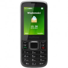 MyPhone Telefon Myphone 6300 Dual Sim Black