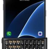 Husa Samsung Galaxy S7 (G930) de protectie spate cu tastatura QWERTY, Tinted Dark