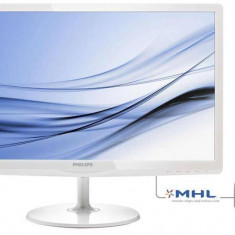 Philips Monitor Philips E-line 247E6EDAW 23.6inch IPS-ADS FHD 60Hz, HDMI, DVI, White