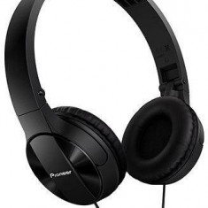 Căști Pioneer SE-MJ503-K, negru, Casti On Ear, Cu fir, Mufa 3, 5mm, Active Noise Cancelling